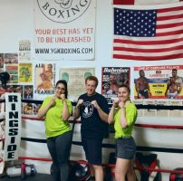 Kingston Gets Active Month - Boxing