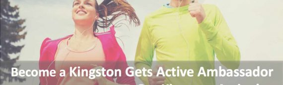 Want to Volunteer?  Join the Movement to Get Kingston Active!