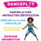 Online Registration for DANCEPL3Y Instructor Certification