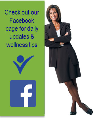 Check out our Facebook page for daily updates and wellness tips