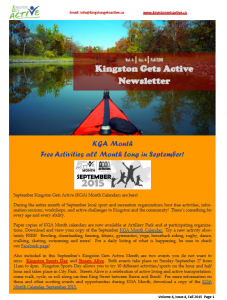 KGA fall newsletter