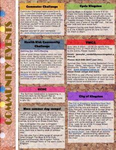 Screen Shot summer newsletter