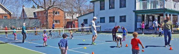 Free Junior Open House at Kingston Tennis Club